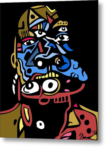 Mouthful Full Color Metal Print