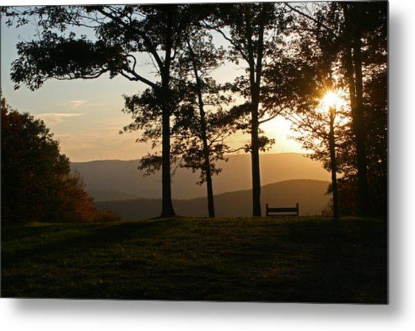 Mt Pisqah Sunset 2 Metal Print