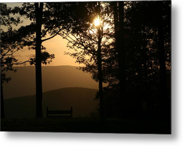 Mt Pisqah Sunset Metal Print
