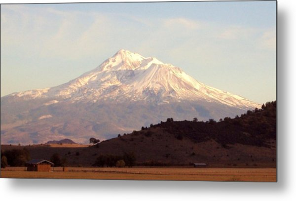 Mt. Shasta Metal Print by Deborah Weber