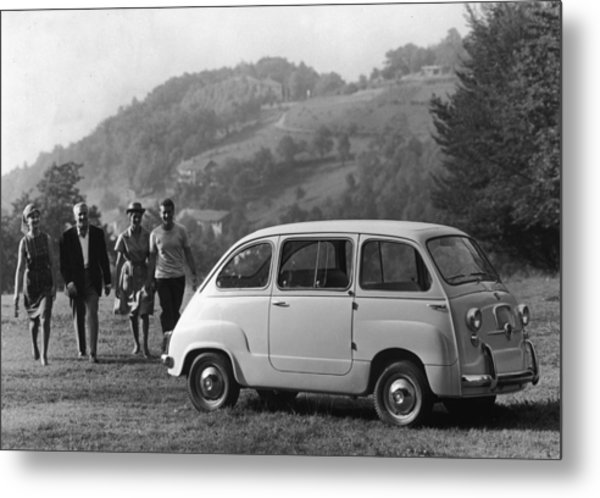 Multipla 4 Metal Print by Archive Photos