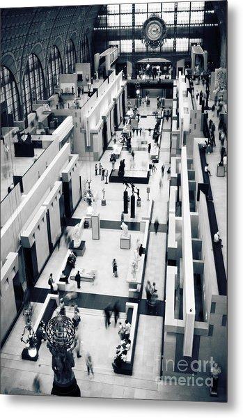 Musee D'orsay Metal Print