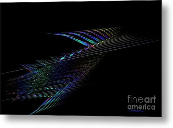 Musical Emotions Metal Print