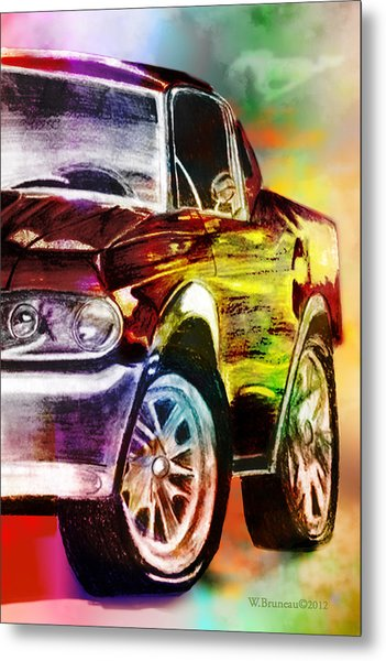 Mustang_2 Metal Print by Whitney Bruneau