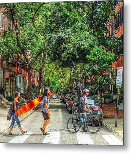 My abbey Road Experience Today On Metal Print