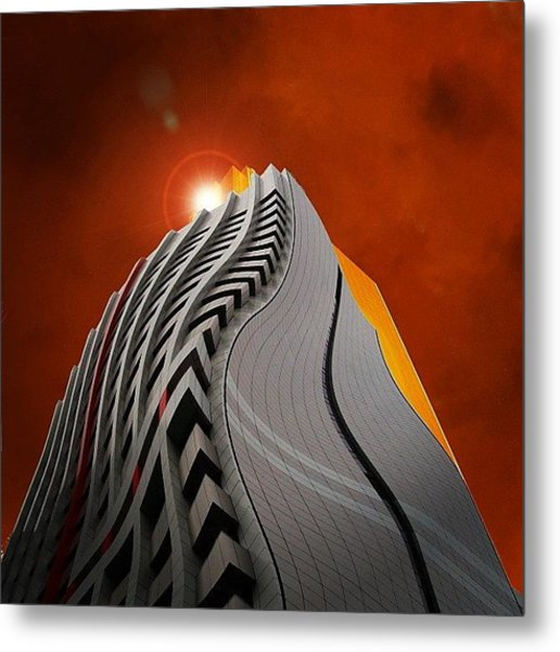 My Distorted Perception Metal Print
