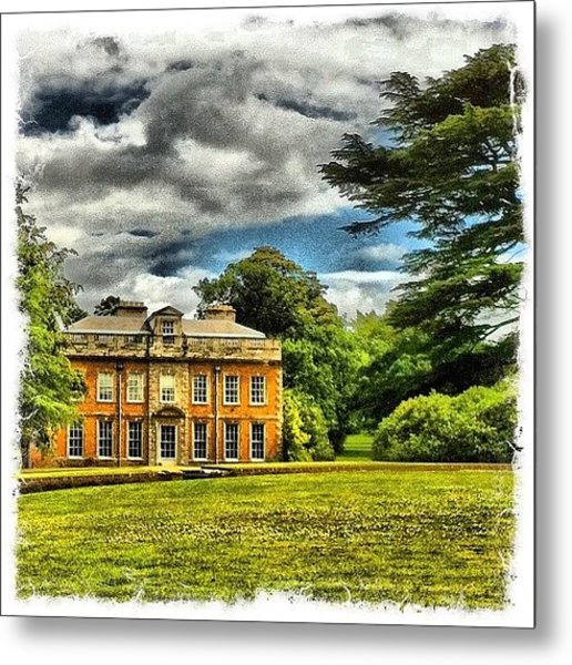 My House Metal Print