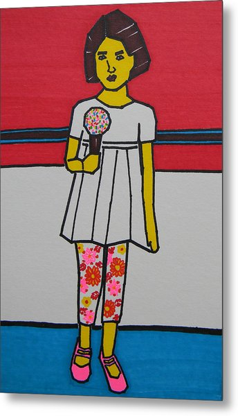 My Ice Cream  Metal Print
