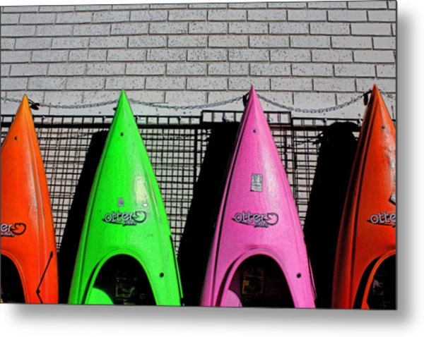 My Kayak Metal Print