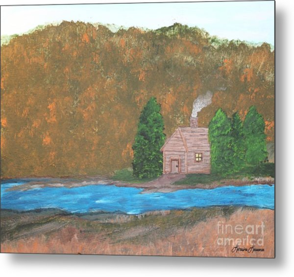 My Little Hide Away Metal Print by Lorraine Louwerse