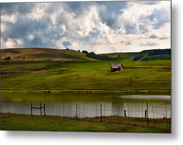 My Little Hut In The Midlands Metal Print by Miguel Capelo