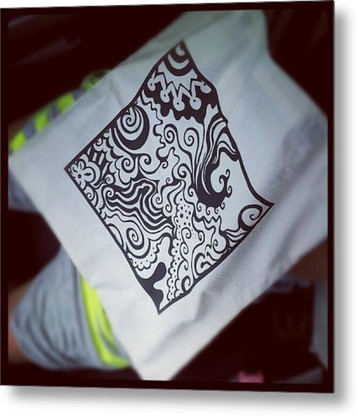 My New Tote Bag (10$) From Metal Print