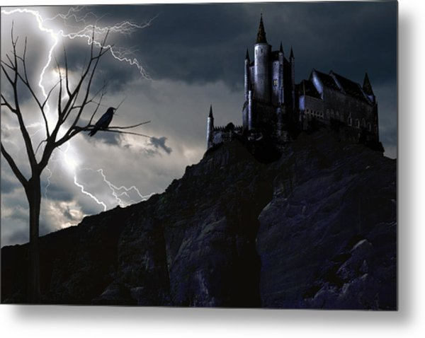 Mystery On The Hill Metal Print