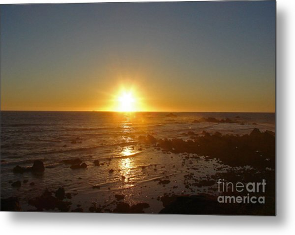 Mystic Sunset 2 Metal Print by Suze Taylor