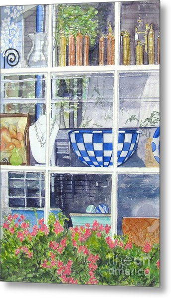 Nantucket Shop-lecherche Midi Metal Print