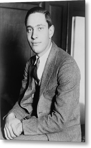 Nathan Leopold, Jr., 1904-1971 One Metal Print by Everett