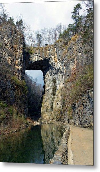 Natural Bridge Virginia Metal Print