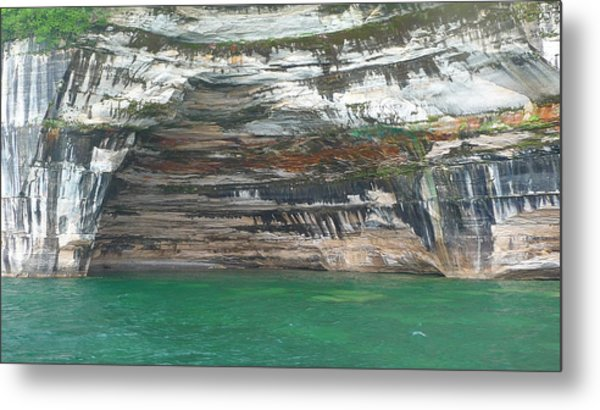 Nature's Painting Metal Print by Michael Carrothers