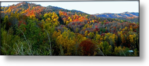 Nc Blue Ridge Mountains Metal Print