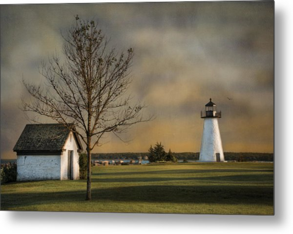 Ned's Point Light Metal Print