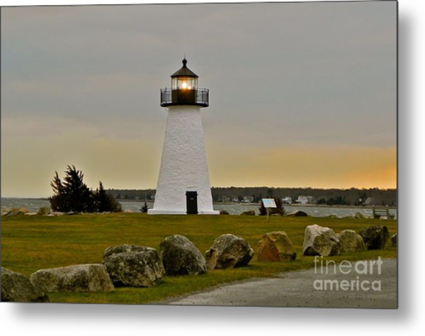 Ned's Point Lighthouse Metal Print by Nick Korstad