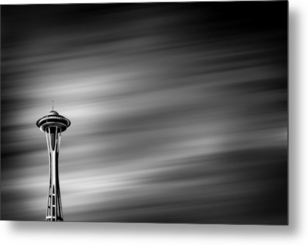 Needle In The Sky Metal Print