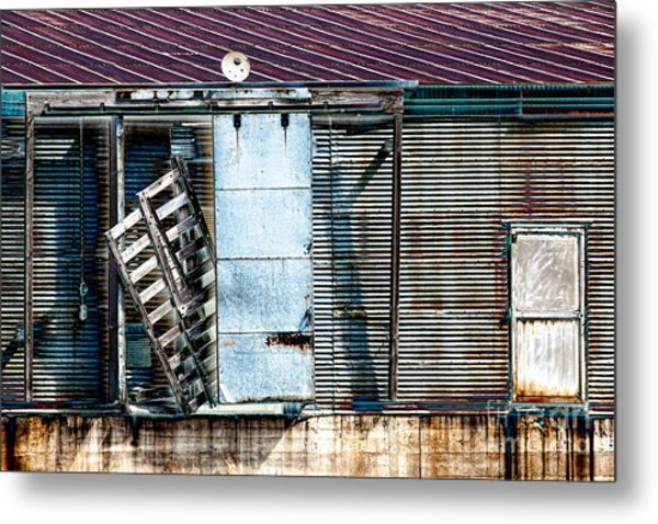 Neglected Grunge Metal Print