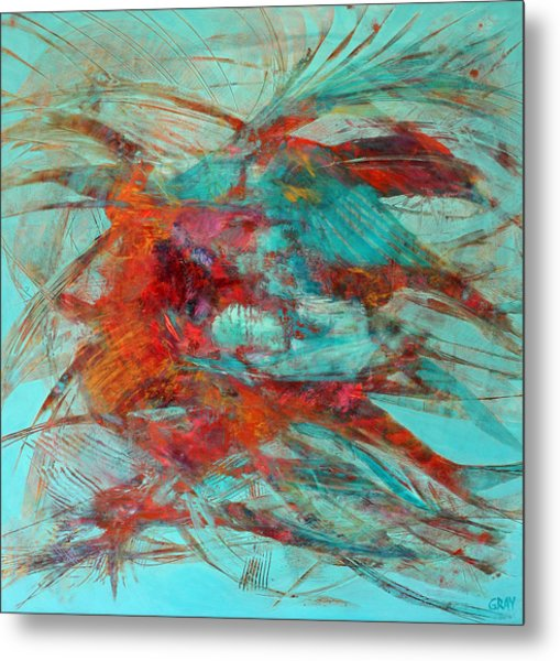 Neither Fish Nor Fowl Metal Print by Gray Jacobik