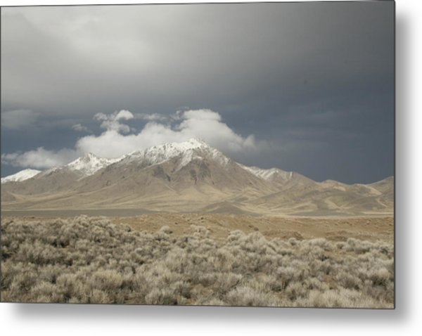 Nevada  Mountain Metal Print