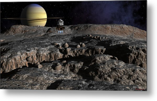 New Discoveries Metal Print