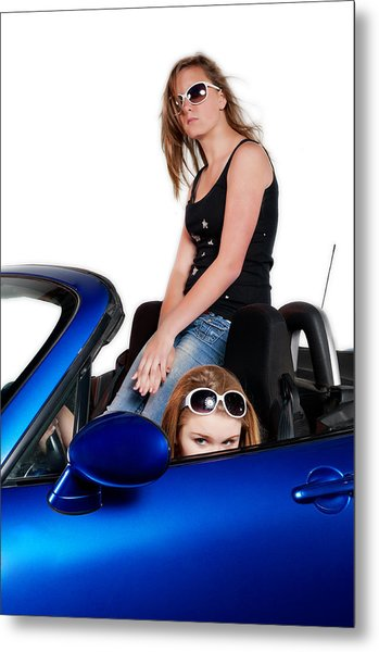 New Drivers Metal Print