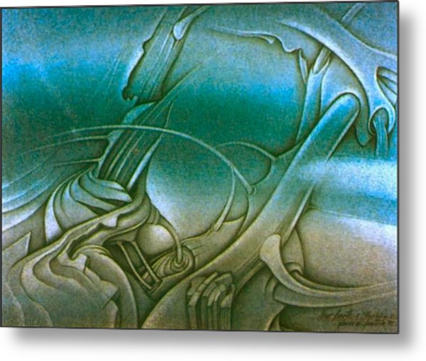 New Earth2 1992 Metal Print by Glenn Bautista