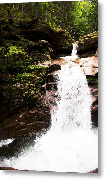 New Hampshire Waterfall Metal Print