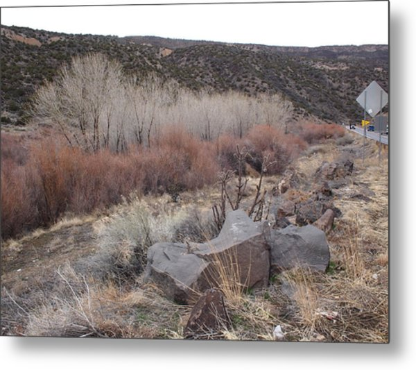 New Mexico Lanscape Metal Print