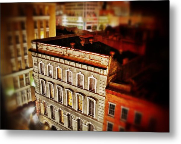 New Orleans Building  Metal Print