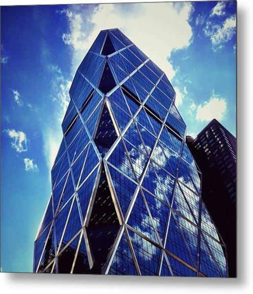 New York City - The Hearst Tower Metal Print