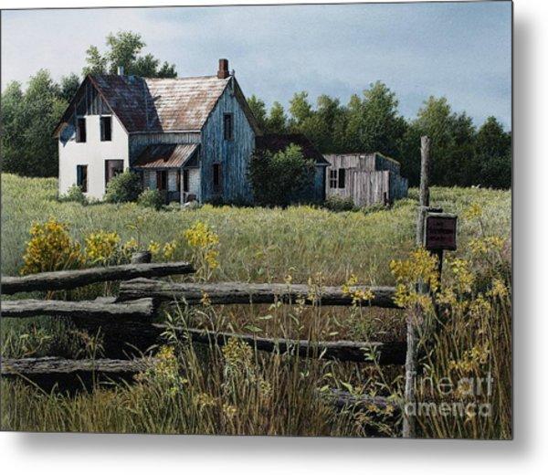 Newboro Farmhouse Metal Print