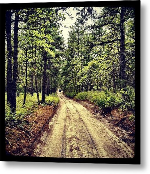 Nice Day For A #trailride Metal Print