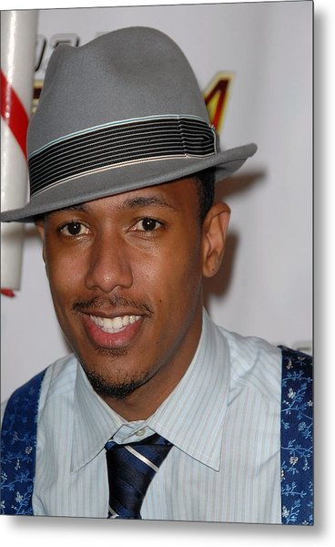 Nick Cannon In Attendance For Kiis Fms Metal Print