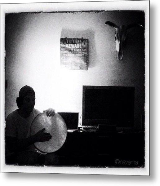 Night Rhythms Metal Print