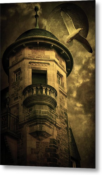 Night Tower Metal Print