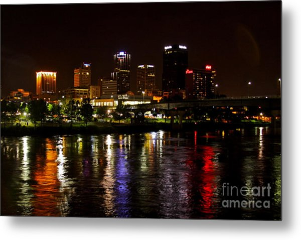 Nights In Little Rock Metal Print