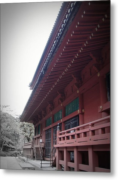 Nikko Monastery Metal Print