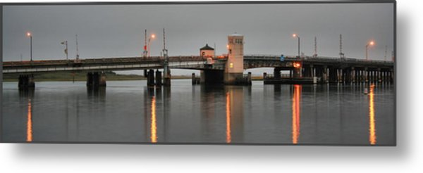 Ninth Street Bridge Ocean City Nj Metal Print