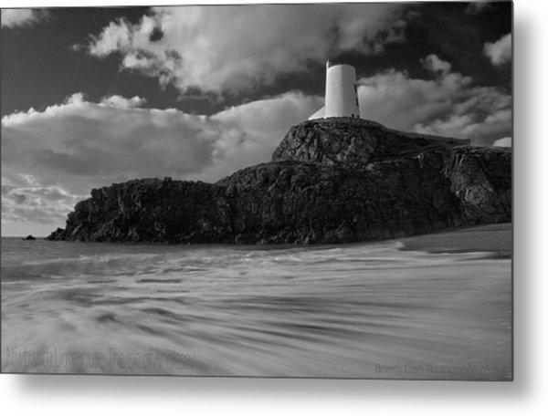 Niwbwrch Lighthouse Metal Print