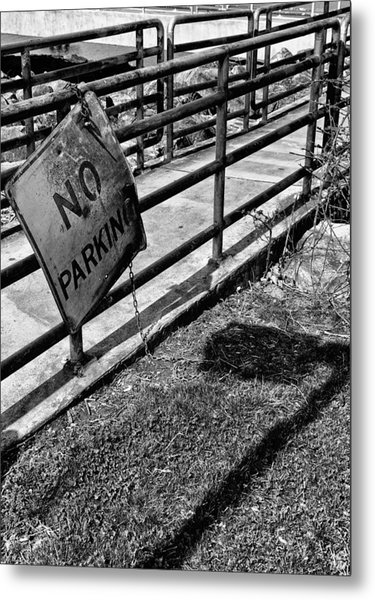 No Parking Metal Print