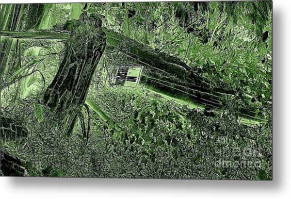 No Trespassing  Metal Print