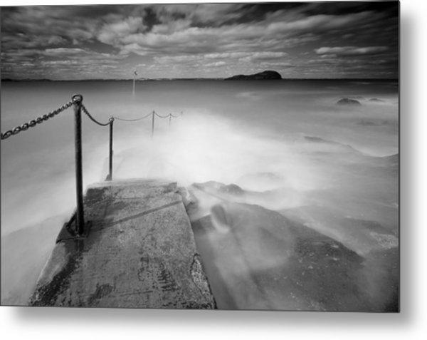 North Berwick Harbour Metal Print by Keith Thorburn LRPS AFIAP CPAGB