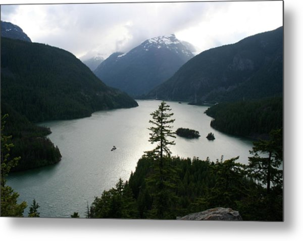 North Cascades Metal Print