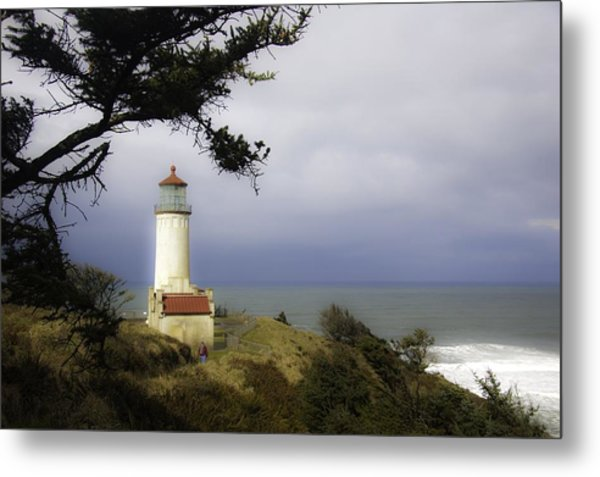 North Head Lighthouse Metal Print